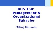 Chapter 10 - Making decisions - student