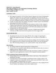 Case Write Up 1 notes