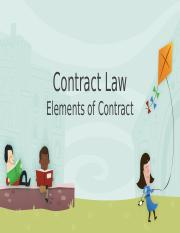 67433_ELEMENTS OF CONTRACT LAW.pptx