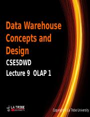 DWD_Lecture9-Olap1-1hour