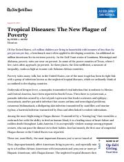 week4Tropical Diseases