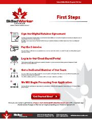 First Steps - Skilled Worker Canada