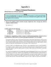 19. Appendix G - Selected Solutions