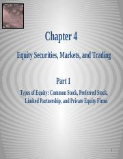 Equity Chapter 04 Part 1 Equity Markets_Securities 2014 sj.pptx