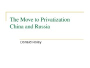 RoleyPrivatization