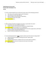 A202 Exam 1B - Ch1-5 - with answers