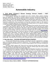 Automobile-Industry.docx