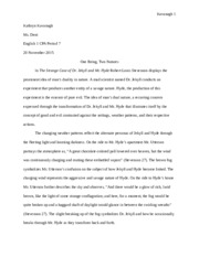 jekyll and hyde final draft