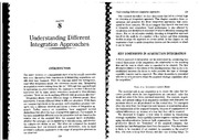 Haspeslaugh, P.C. and Jemison (1991). Understanding different integration approaches.