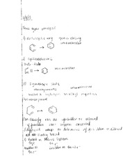 Physical Organic Chemistry Pericyclic Notes