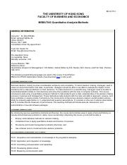Course Outline_MSBA7003_Quantitative Analysis Methods_Dr Wei Zhang (1).pdf