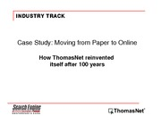 Case Study_Moving from Paper to Online