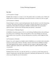 liberty apol 104 critical thinking assignment