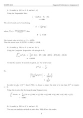 MATH 3242 2014 Assignment 1