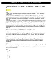 Corporate Finance- Chapter 16 & 17.docx