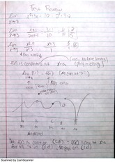 Continuos Functions, Angle Addition Test Review