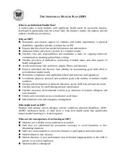 The Individual Health Plan 08 (3).doc