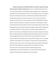 Freedom of expression Draft Ryan Forbes Pd.1.docx