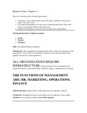 7407Full Business Notes.doc
