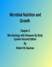 Chapter 6 Microbial nutrition and growth .pptx