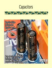 3.3 Capacitors.ppt