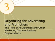 Chapter 3 notes integrated marketing comunications