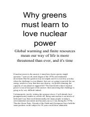 Why greens must learn to love nuclear power.pdf