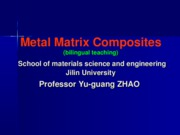 Metal Matrix Composite{chapter(1)}