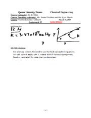 Assignement 3  Solutions