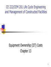 Chapter 13 - - Equipment Ownership (IIT) Costs.pdf