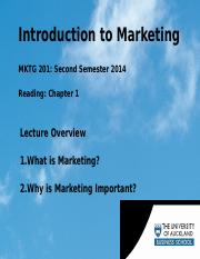Wk 1 Th Intro to Mktg lecture outline.ppt