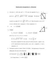 PHSX 114 - HW #4 Solutions