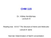 8CHM11509 full lecture