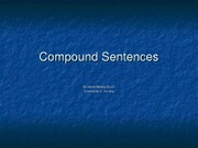 compound sentences WR