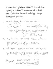 Review of heating curves II
