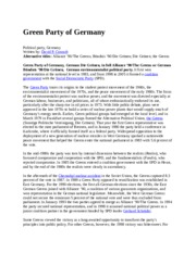 Environmentalist+Political+Party+in+Germany