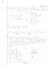 Phys 130 Class Notes- Kinematics in 2D Motion