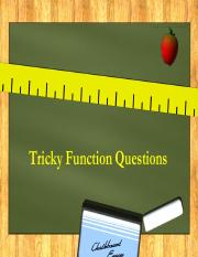 Tricky Functions 2.pdf