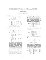 MATH122-200610-PS10-Solutions