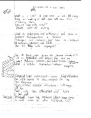Biology cell notes