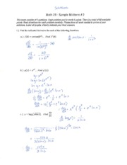 Math 2B  sample midterm 2 solutions Tolentino