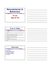 Ch 2 - Neuroscience & Behavior