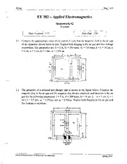 382 Homework2 Solutions