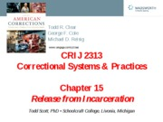 CRIJ 2313 - Chapter 15 Power Point