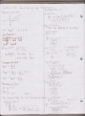 Chapter 3.6 Derivatives of Log Functions