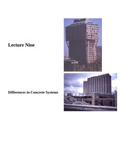 Lecture 9-Differences in Concrete Systems