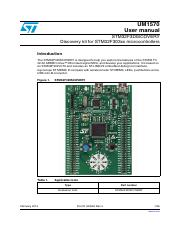 STM32F3 Discovery user's manual.pdf