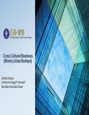 Kelompok 1 - Cross Cultural Business.pdf