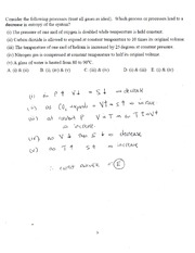 CHEM 150 Example 10 In Class Solutions