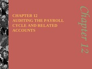 c12 Payroll Cycle